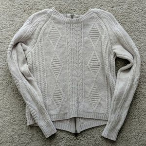 Madewell lavender sweater
